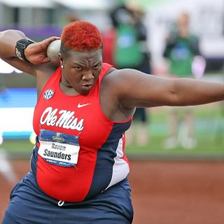 Ole Miss Track and Field at the 2016 NCAA Outdoor Track and Field Championships in Eugene, OR.
